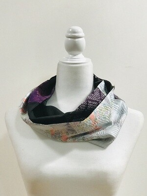Double infinity scarf 6.25 x 57.5in