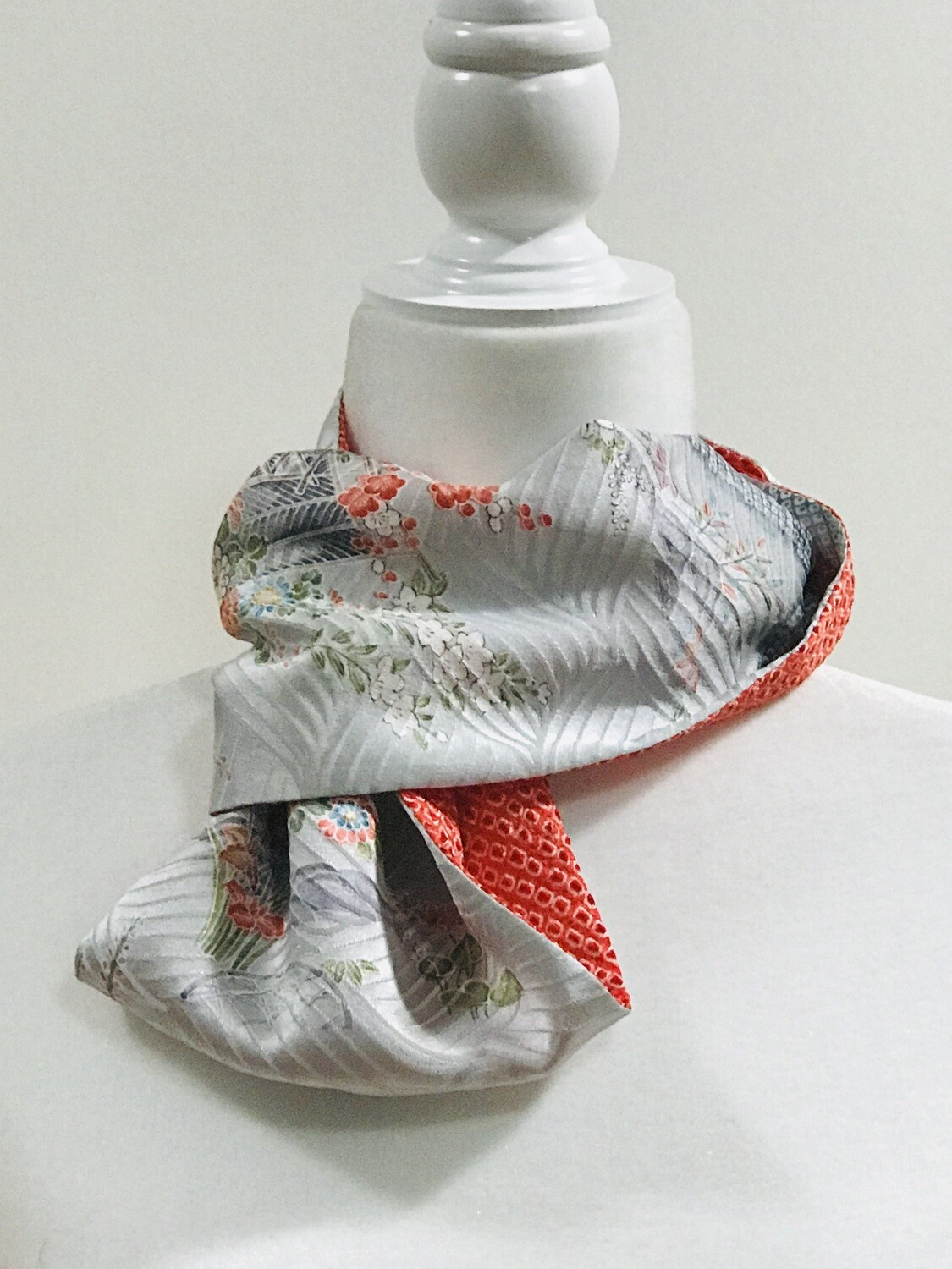 Double infinity scarf 6.25 x 50 in