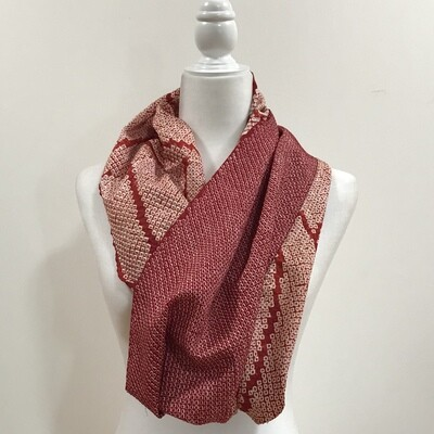 Single infinity scarf  Size 20.5 x 44 in