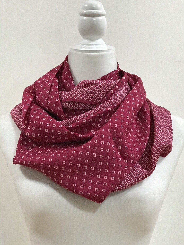 Double/ triple infinity scarf 14.5 x 79 in