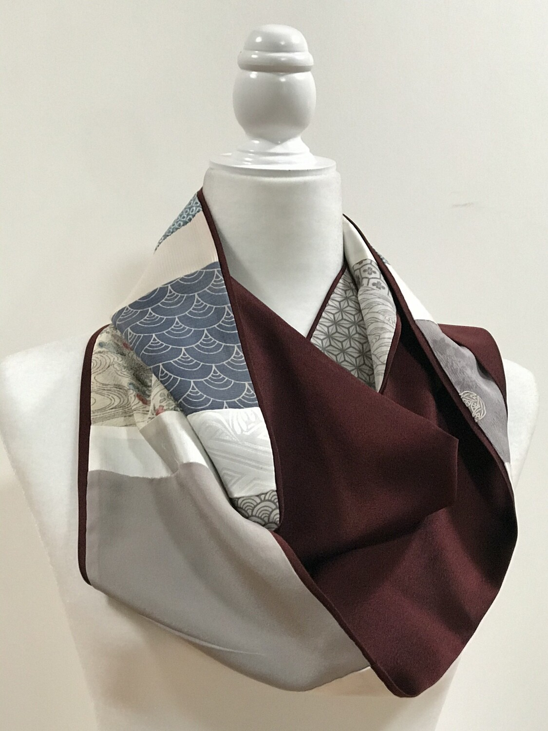 Double infinity scarf 6.5 x 66in
