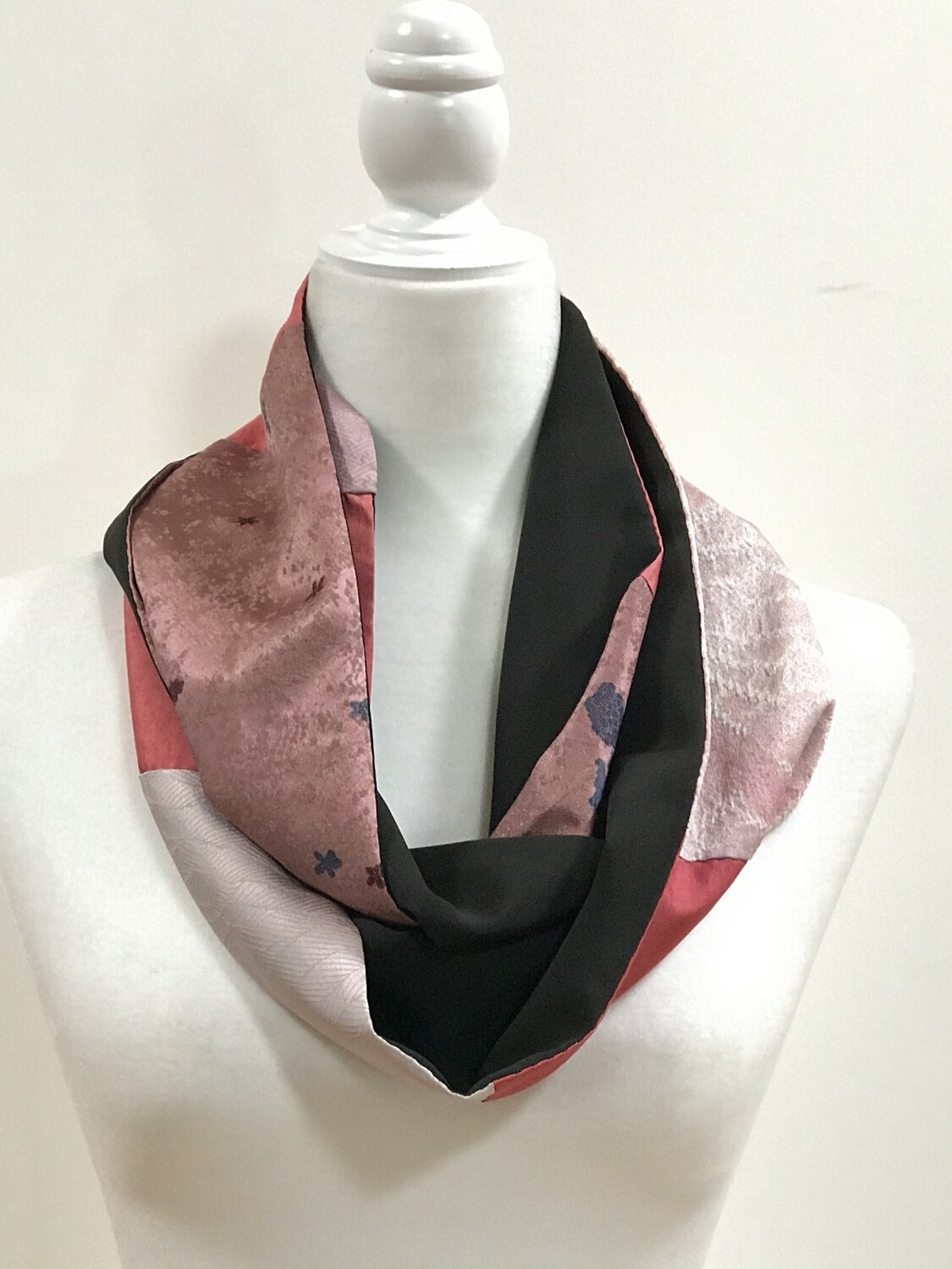 Double infinity scarf 6.5 x 63in