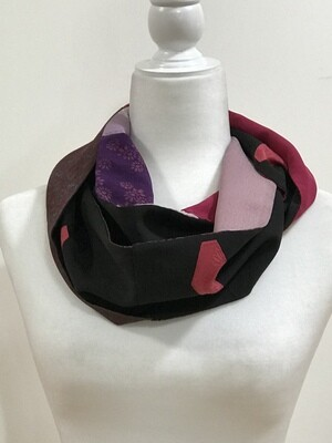 Double infinity scarf 6.5 x 57in