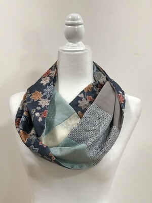 Double infinity scarf 6.25 x 66.5in8