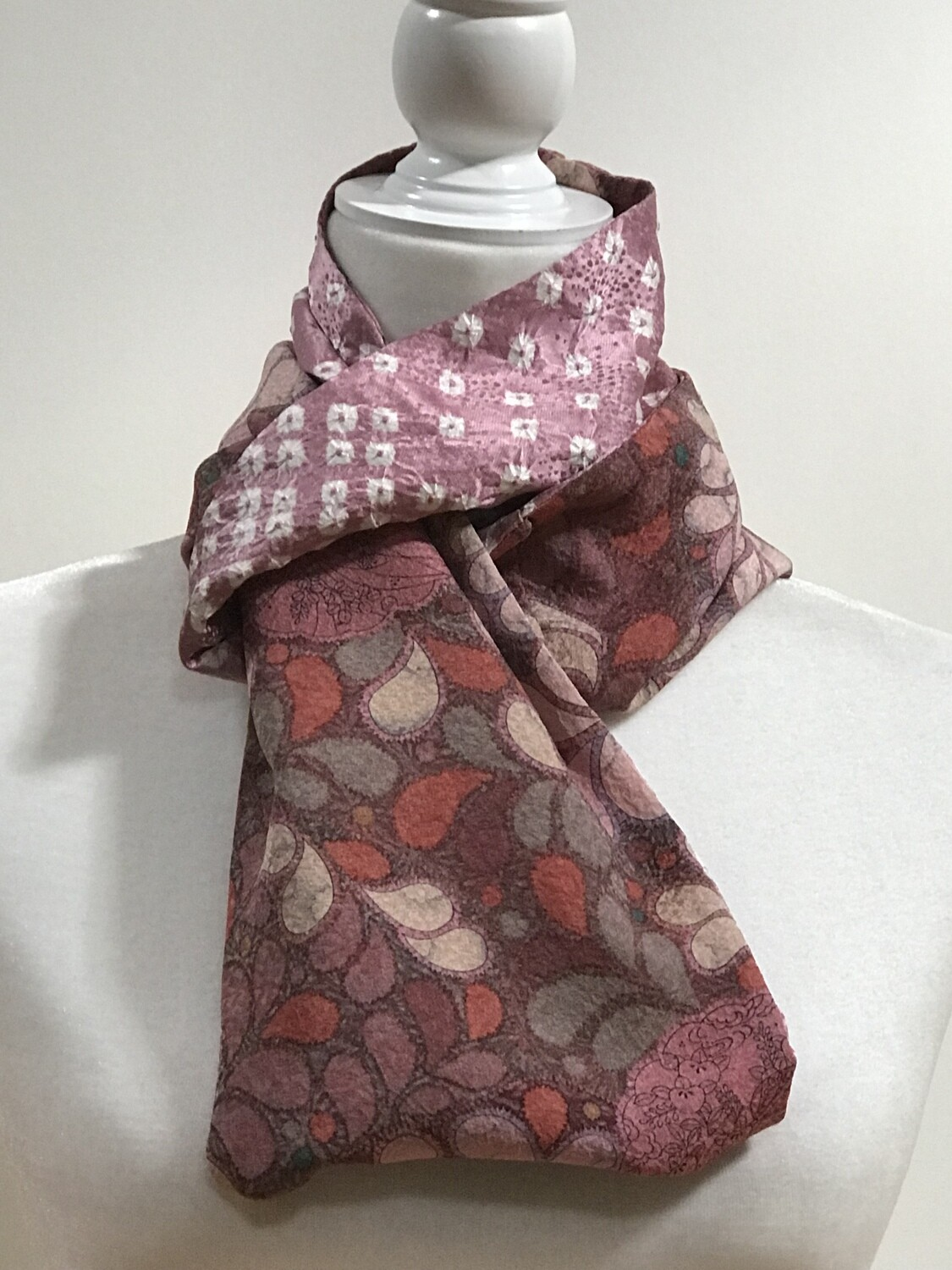 Double infinity scarf 7 x 58 in