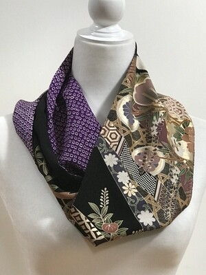 Double infinity Scarf 6.75 x 62 in
