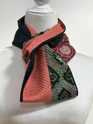 Double infinity  scarf 6 1/4 x 54in