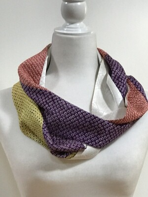 Double infinity scarf 6 1/4 x 62in