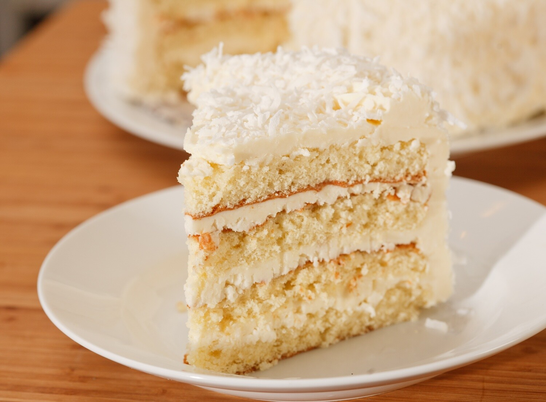 Coconut Cake (Layered)