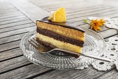 Vanilla w/ Chocolate Icing (Layered)