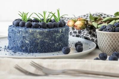 Blue Velvet Cake ( Layered)