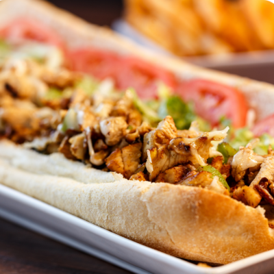 Chicken and Cheese Sub