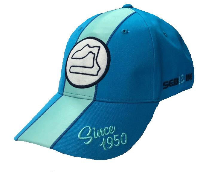 Sebring Track/Since 1950 Hat - Blue/Teal