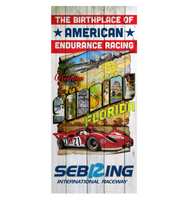 Sebring Beach Towel - Historic