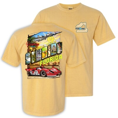 2020 SIR Historic Iconic Tee - Mustard