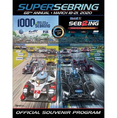 2020 Program - SuperSebring