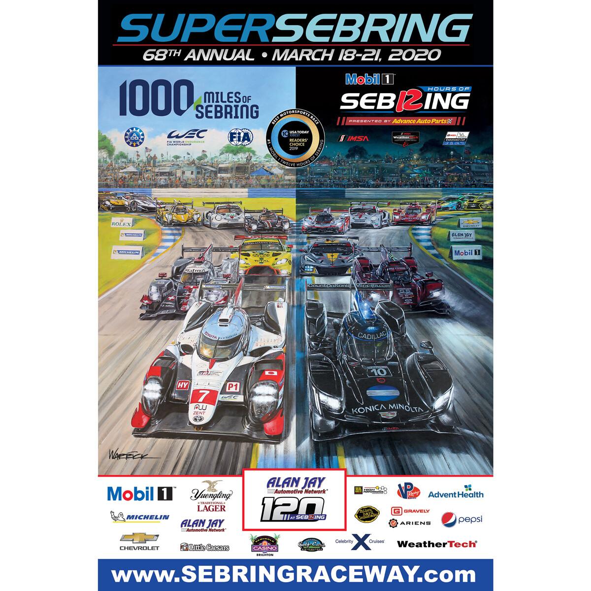 2020 SuperSebring Poster