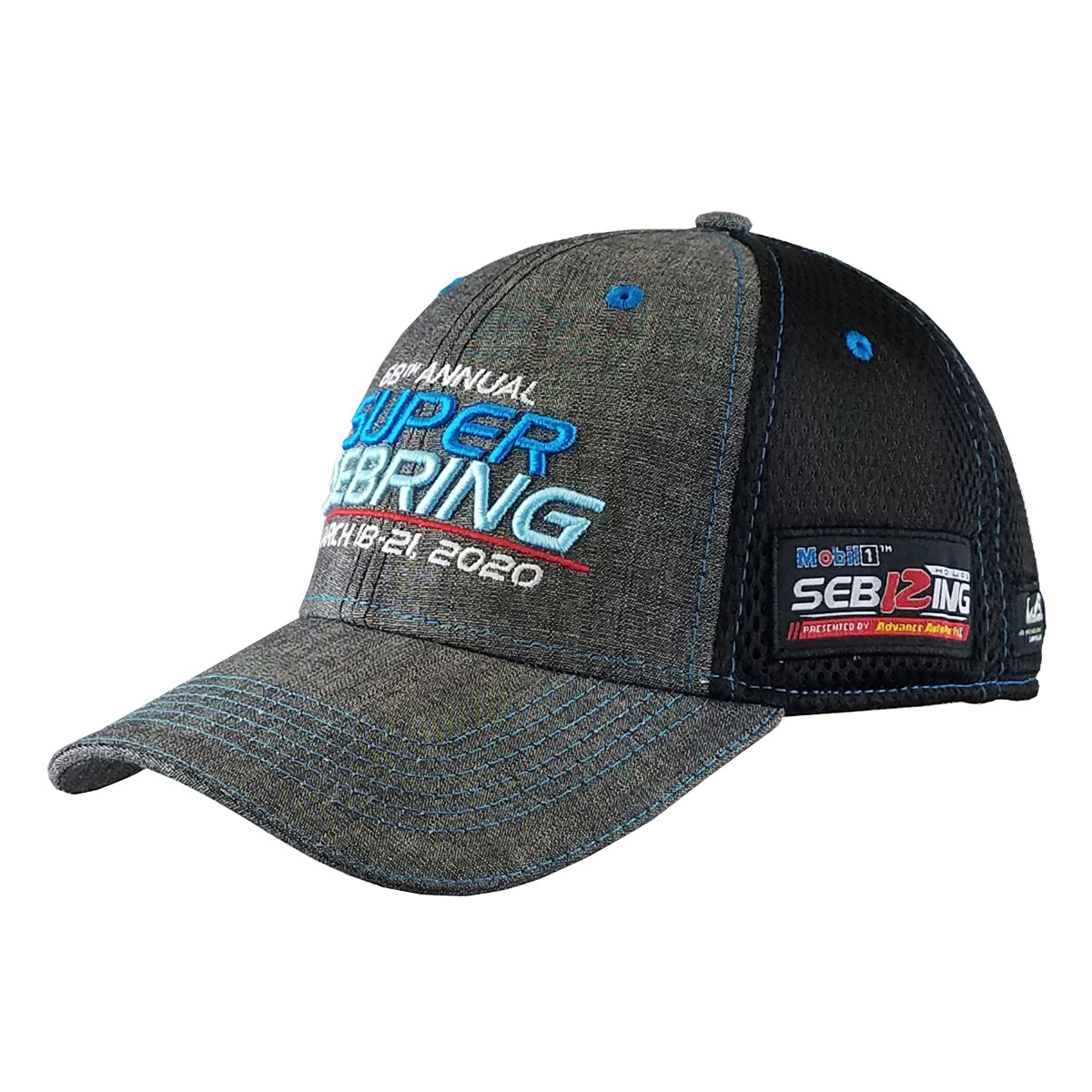 2020 SuperSebring Hat-Chambray/Black