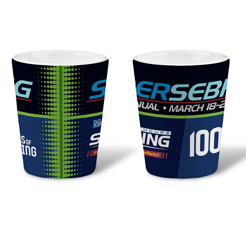 2020 SuperSebring Shot Glass