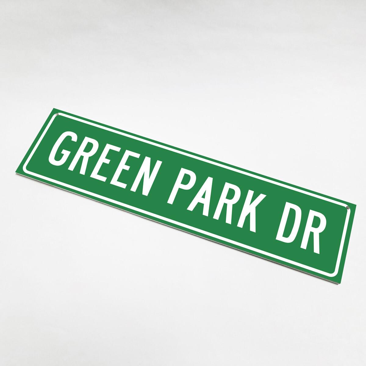 Green Park Drive Street Sign2019