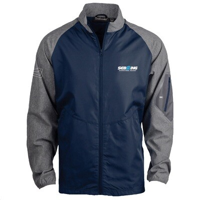 Sebring Hurricane Jacket - Navy/Grey