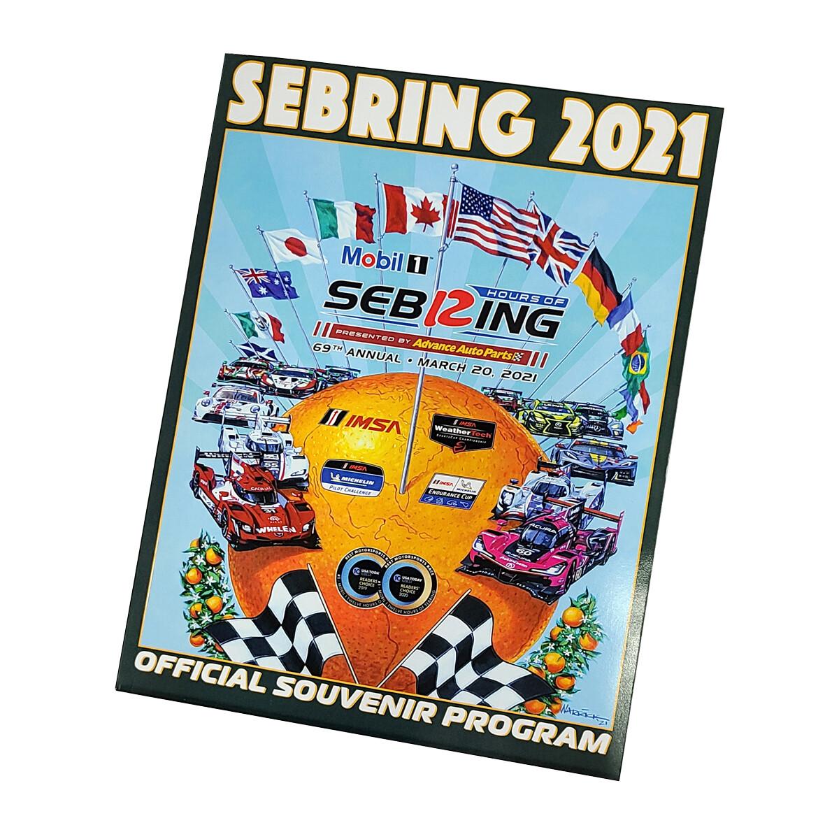 2021 Program - 69th Mobil 1 12 Hours of Sebring