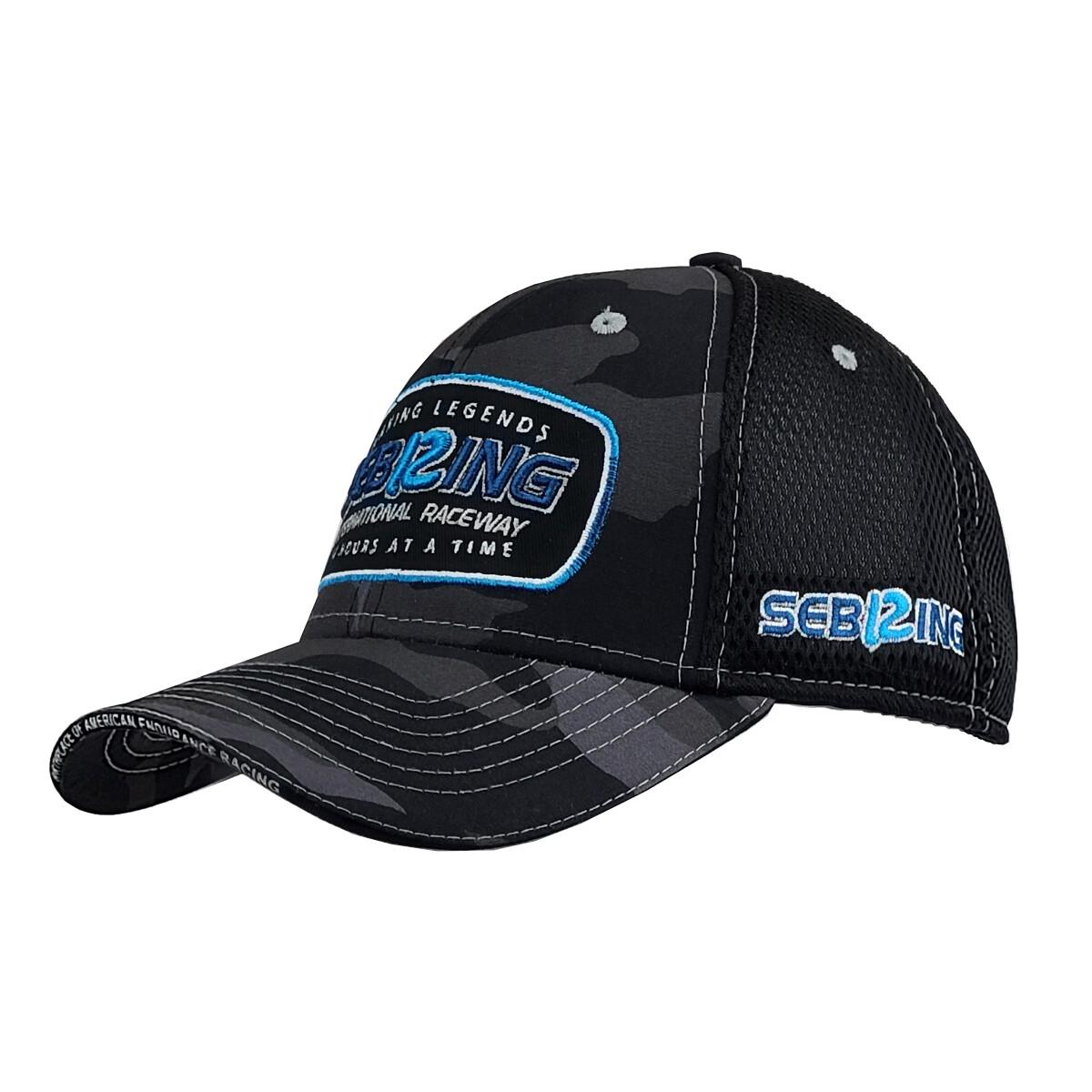 Making Legends Camo Hat- Black
