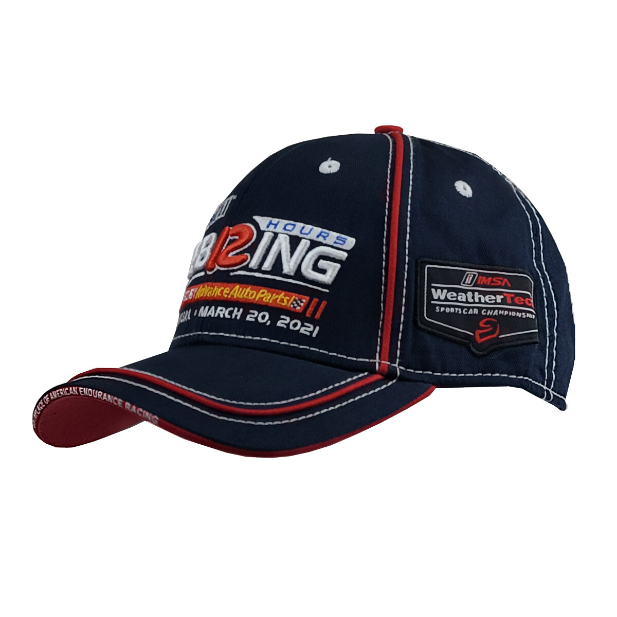 Hat - 69th 12 Hours - Navy/Red