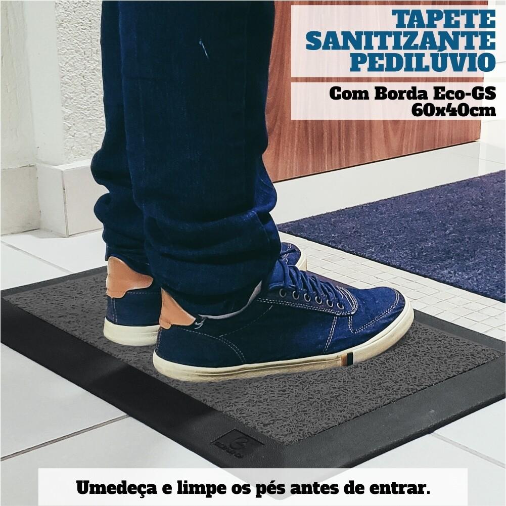 Capacho Sanitizante Pedilúvio 60x40
