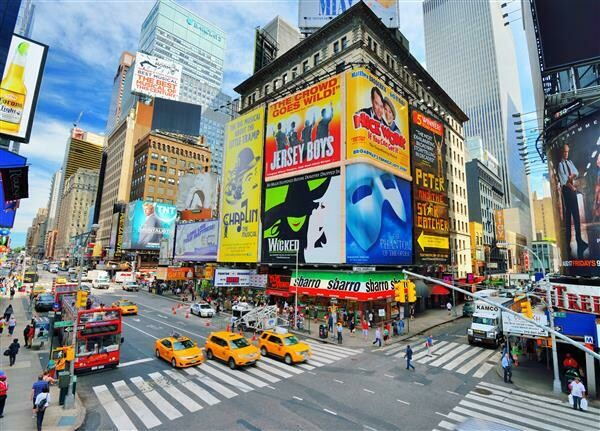 Foto Mural Times Square - 1,80x1,35m