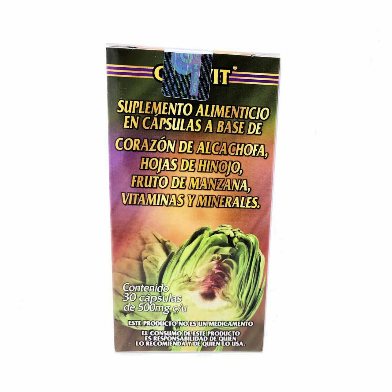 Capsulas de Alcachofa | Artichoke Capsules