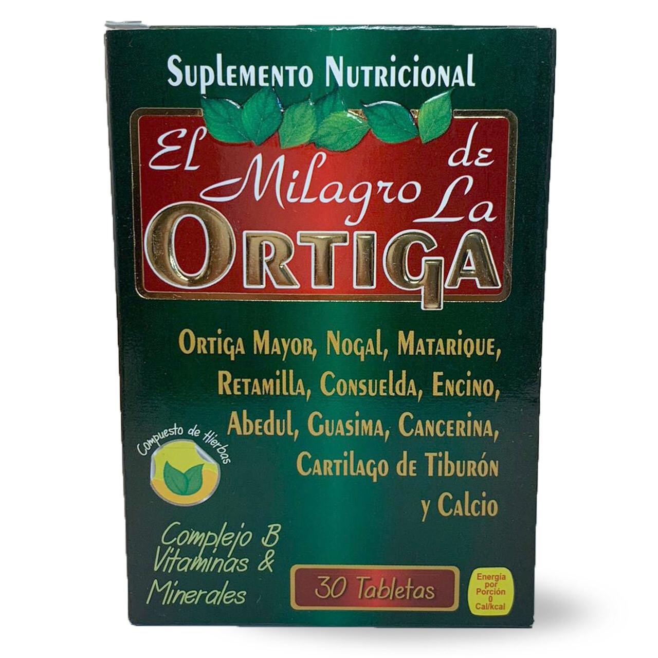 El Milagro de la Ortiga |  30 Tabletas