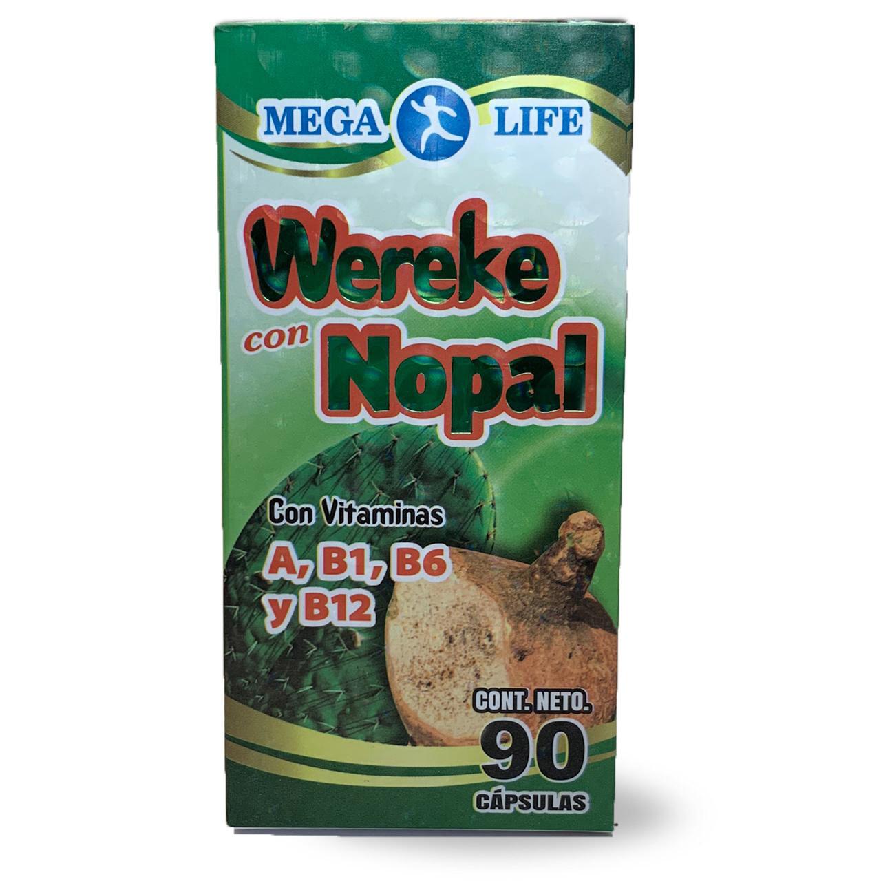 Wekere con Nopal