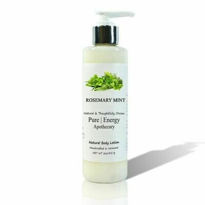 Rosemary Mint Body Lotion | Locion Corporal de Romero y Menta 8 oz