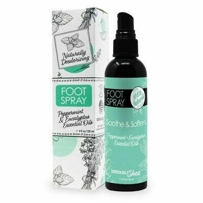 Deodorizing Foot Spray 100% Natural |  Spray Desodorante para Pies 100% Natural
