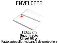 Boîte de 500 Enveloppes
