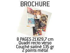 Brochures 16 pages A5