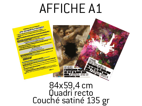 10 Affiches A1
