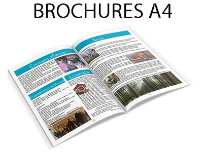 Brochures 8 pages A4