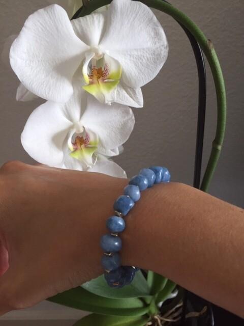 Angelite Hawaï Blue Stones (1 pièce)
