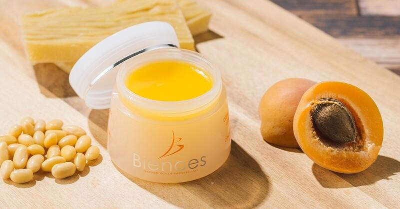 Crème concentrée à l'huile d'abricot Biences