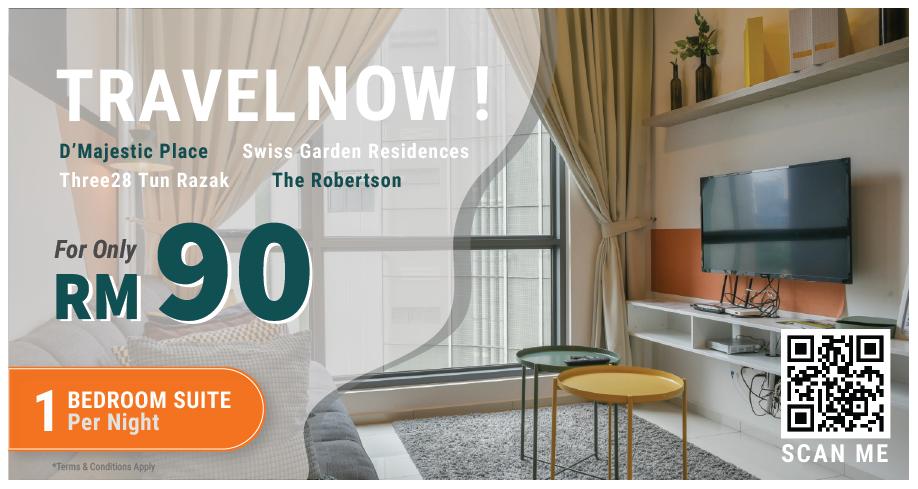 Kuala Lumpur | 1 Bedroom Suite Promotion Voucher
