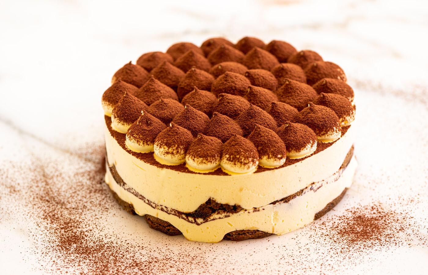 Torta semifreddo Tiramisù