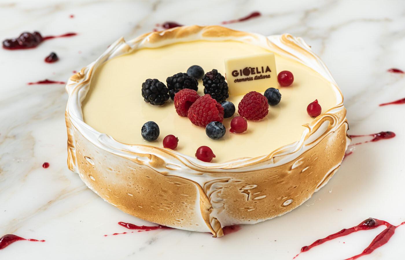 Torta Chantilly frutti di bosco