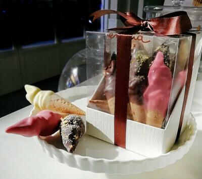 Confezione 10 coni mignon gusti assortiti