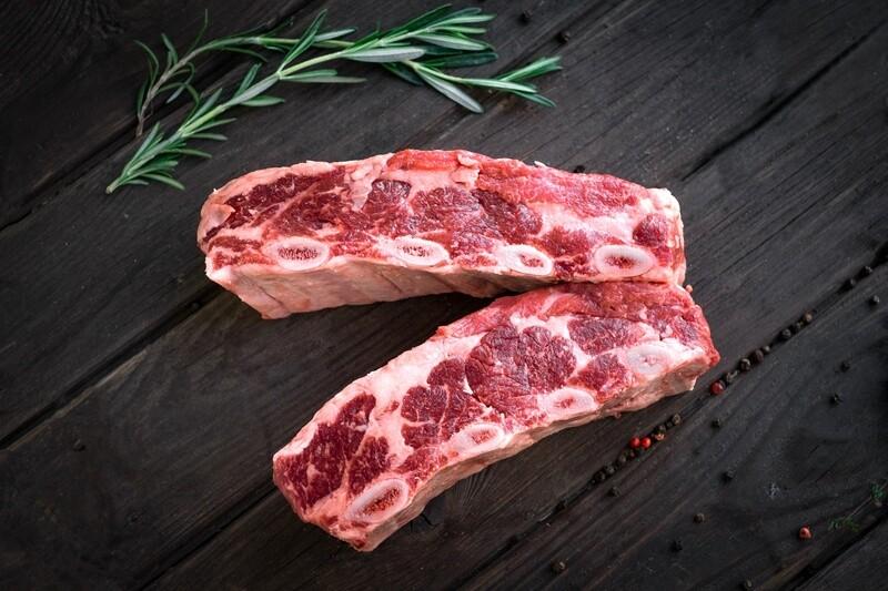 Beef Short Ribs - Four Pieces Per Pack ($15.99/lb)