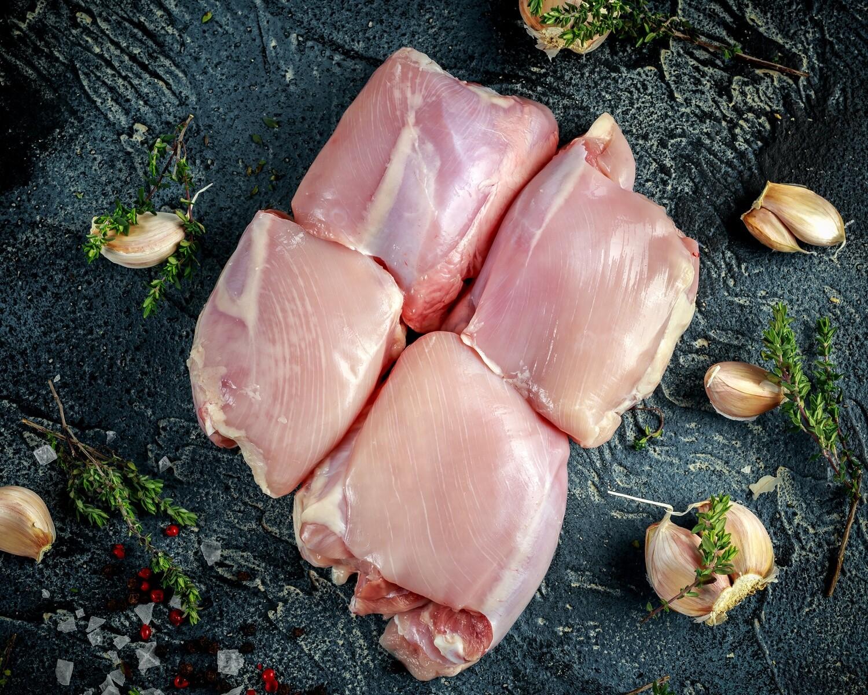 Boneless Skinless Chicken Leg/Thigh Fillets - $8.99/lb