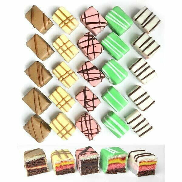 Deluxe Petit Fours - 48 Pieces