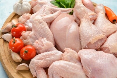 Chicken Cut In Eighths ($3.82/lb)