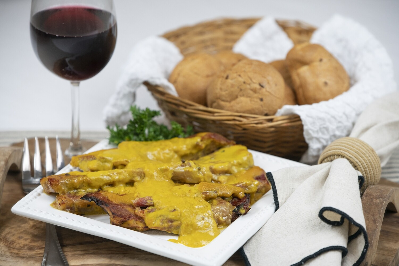 Honey Mustard Glazed Corned Beef - 24 oz Tray